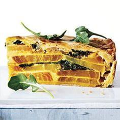 Our Favorite Beet Recipes: Golden Beet, Greens, and Potato Torta | CookingLight.com