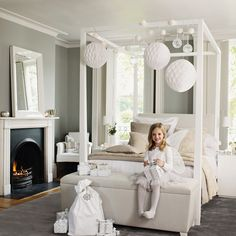 "Childrens Bedroom > Childrens Bedroom Accessories > Luminart bolas de luzes ""Pure White"""