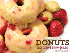 EASY DONUTS USING BISCUIT DOUGH!