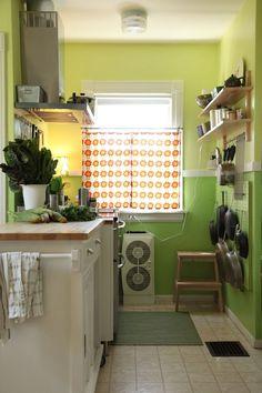 Mari & Adam's Colorful Craftsman Kitchen Kitchen Tour
