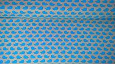 Jersey Jerseystoff Wale dunkelblau beige von Meterware Stoffe günstig kaufen auf DaWanda.com