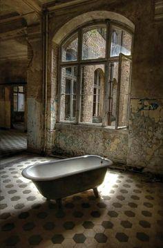 Beauty in Decay Romantic Tub by Alexander 3Passa Friedrich