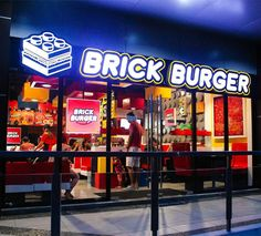 Brick Burger Is A LEGO Themed Burger Restaurant Based In The - This restaurant in the philippines now sells lego burger buns