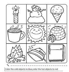 Sıcak soğuk hot_or_cold_activity_worksheet_opposites Opposites Preschool, Preschool Learning Activities, Preschool Curriculum, Free Preschool, Preschool Printables, Kindergarten Worksheets, Kindergarten Activities, Preschool Activities, Kids Learning