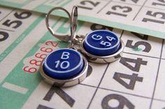 RESERVED for Mickmaster Bingo Marker Bracelet and Earrings