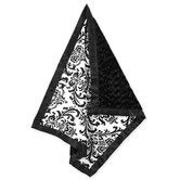 Found it at Wayfair - Sweet Jojo Designs Isabella Black and White Collection Baby Blanket