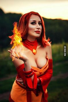 LINA Cosplay from Dota 2