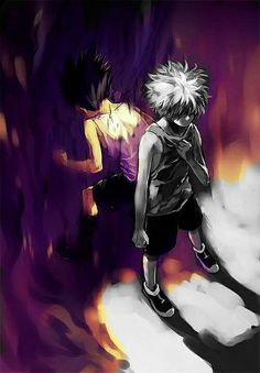 Hunter x Hunter, I love them!