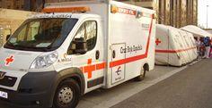 Cruz Roja reduce sus efectivos para la #Cincomarzada 2013 #Zaragoza