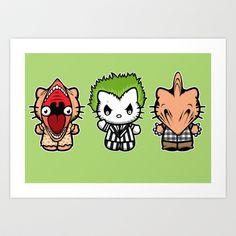 BeetleKats Art Print by Andrew Mark Hunter - $13.52