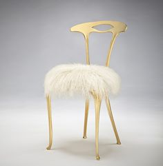 Michelea Caron   Contemporary Gilded Chair