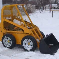 Yes, a DIY skid steer