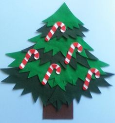 www.feltboardmagic.com five-candy-canes-hanging-on-the-tree