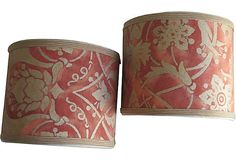 Mary Jane McCarty | Large Fortuny Sconce Shades, Pair Mary Jane McCarty ... | For the ...