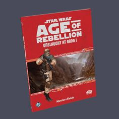 Star Wars: Age of Rebellion: Onslaught at Arda   Book cover and interior art for Star Wars RPG - Roleplaying Game, Role Playing Game, Living Card Game, LCG, d20, d6, Open Game License, OGL, Fantasy Flight Games, FFG, Fantasy Flight Publishing Inc.   Create your own roleplaying game books w/ RPG Bard: www.rpgbard.com   Not Trusty Sword art: click artwork for source