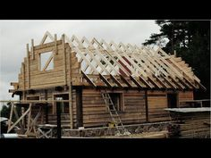The Birth Of A Wooden House. Extended - YouTube
