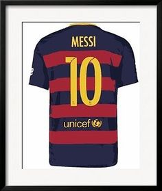 LIONEL-MESSI-10-POSTERIZED-BARCA-HOME-SHIRT-FRAMED-POSTER