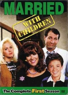 with Children: The Complete First Season: Ed O'Neill, Christina Applegate, Katey Sagal, Amanda Bearse, David Faustino. Amanda Bearse, Great Tv Shows, Old Tv Shows, Movies And Tv Shows, Ed O'neill, Mejores Series Tv, Married With Children, Comedy Tv, Vintage Tv