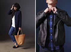 Levi's Made & Crafted Fall/Winter 2014 Lookbook with Wilder