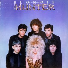The Hunter by Blondie, Their last group album until Composer and guitarist Chris Stein was hospitalised preventing the continuity of their career. Used Vinyl Records, Lp Vinyl, Vinyl Music, Music Wall, Music Album Covers, Music Albums, Lps, Blondie Albums, Vinyls