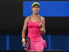 WTA Australian Open-Eugenie Bouchard vs. Caroline Garcia