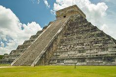 The Mayan ruins of Chichen Itza, Yucutan, Mexico