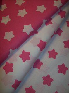 hvězdičky růžové -metráž