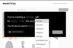 Wantful - Gift Search
