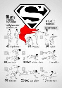Superman Bodyweight Workout