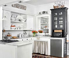 Tips For Decorating The Space Above Kitchen Cabinets