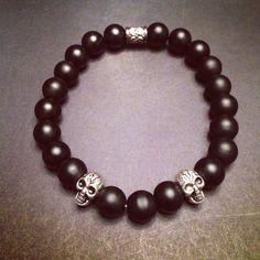 Men's Skull Bracelet by WristRageNJ on Etsy
