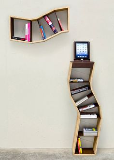 Furniture Accessories Furniture Appealing Space Saving Book Shelves Reading Roomsand Bookshelf Design High Definition For Your House Design Amusing Book Shelf Designs Ideas Where to Put the Furniture Simple and Attractive Design Book Creative Bookshelves, Modern Bookshelf, Small Bookshelf, Bookshelves Kids, Bookshelf Design, Modern Shelving, Bookshelf Ideas, Shelving Ideas, Storage Ideas