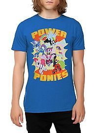 HOTTOPIC.COM - My Little Pony Power Ponies T-Shirt