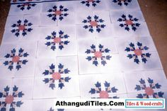 AthangudiTiles.Com - Athangudi Tiles - Tile Designs Room Wall Tiles, Indian Crafts, Tile Design, Wood Crafts, Quilts, Antiques, Flowers, Home Decor, Antiquities