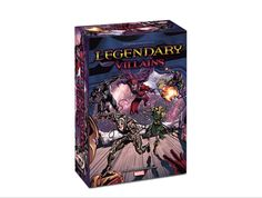 Legendary™ Villains: A Marvel Deck Building Game- $59.99    The Legendary universe gets flipped upside down! Play as Villains trying to take out the Heroes protecting the city!    15 playable Villains! 7 Hero groups! 4 Head Honchos! 4 Bodyguards! 8 new Schemes! New Agent, Trooper and Officer cards! New unique Bystanders! #marvel #legendary #villains #xmen #avengers #spiderman
