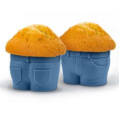 Fill these adorable jean-style cupcake pants with your favorite cake batter. As Muffin Tops bake, they develop that little extra bulge around the middle!  #ZGallerie  #Muffin