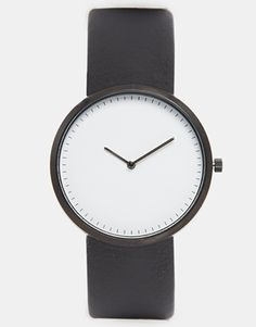 ASOS Watch With White Face