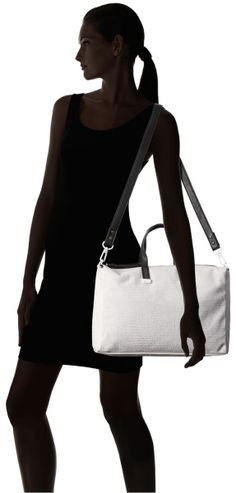 French Connection White So Fresh Tote
