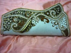 Wedding Bridal Clutch Purse Handbag Bag Available in many different colors The purse's interior photo is a sample photo not of the actual purse In the actual purse the design White Clutch Purse, Clutch Bags, Bridal Handbags, Bridal Clutch, Beaded Clutch, Bridesmaid Gifts, Purses And Handbags, Sequins, Choices