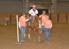 Therapeutic riding spurs on friendships! Read about the MSU Extension program here.