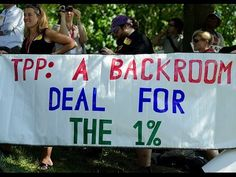 They promised us a debate over TPP, then they signed it without any debate / Boing Boing