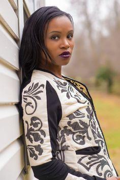 Fashion Blogger ValerieRobinson @UnaplogeticallyUs adoring with #LadyR. To read more click http://www.unapologeticallyus.com/fashion-styling-lady-r-clothing/