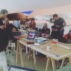 Robotic Construction workshop da Bartlett School of Architecture #architecture #art #robotics #arduino by ph_hidan