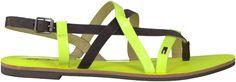 Groene Tommy Hilfiger sandalen ORLA 1 Flats, Sandals, Fashion, Loafers & Slip Ons, Moda, Shoes Sandals, Fashion Styles, Ballerinas, Fashion Illustrations