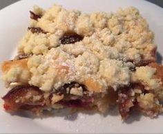 Pflaumenkuchen mit Streuseln - schnell gemacht und lecker!