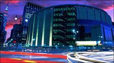 Madison Square Garden...home of the NY Rangers & NY Knicks