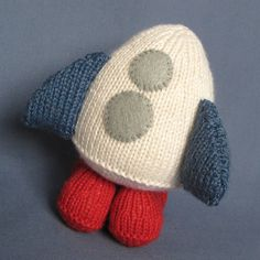 Ravelry: Boggle the alien and space rocket - fluff and fuzz knitting pattern pattern by Amanda Berry