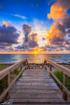 Sunrise from Tequesta Florida Jupiter Island Coral Cove Park