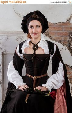 SALE 20% Cocoa brown historical renaissance costume Ready to ship SALE!