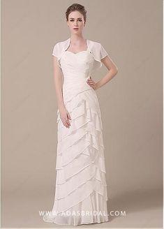 129.99  Stunning Chiffon Sweetheart Neckline Sheath Mother of The Bride  Dresses. Abiti Da SposaMadre ... 3f60281729d